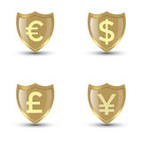Shield Money Stock Images