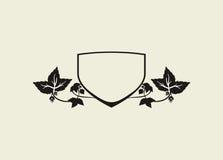 Shield Of Hops Royalty Free Stock Photo