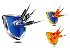 Shield Protection Royalty Free Stock Photography