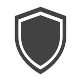 shield protection anti virus insignia security Stock Photo
