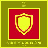 Shield. Protection icon. Signs and symbols - graphic elements for your design Royalty Free Stock Photography