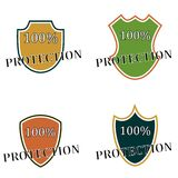 Shield protection Royalty Free Stock Photos