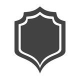 Shield protection insignia security premium Royalty Free Stock Photos