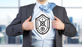 Shield and protection Stock Photography