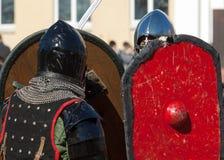 Shield protection Royalty Free Stock Photos