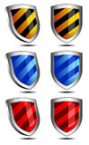 Shield Protection security technology Royalty Free Stock Photography