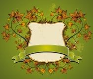 Shield and  ribbon, vector Royalty Free Stock Photography