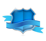 Shield seal illustration design Royalty Free Stock Photography
