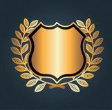 Shield seal Royalty Free Stock Photography
