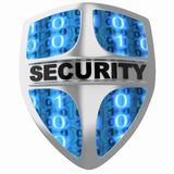 Shield security Stock Images