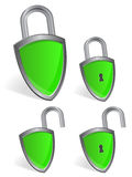 Shield - security concept stock illustration