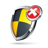 Shield security concept Royalty Free Stock Photos