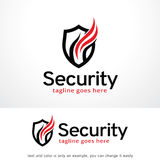 Shield Security Logo Template Design Vector, Emblem, Design Concept, Creative Symbol, Icon. This design suitable for logo, symbol, emblem or icon Royalty Free Stock Images