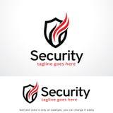Shield Security Logo Template Design Vector, Emblem, Design Concept, Creative Symbol, Icon Royalty Free Stock Images