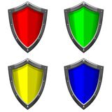 Shield Set Royalty Free Stock Images
