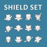 Shield set Stock Photo