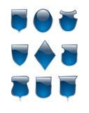 Shield-shaped Tasten Stockbilder