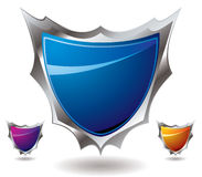 Shield sharp Royalty Free Stock Photography