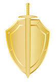 Shield for the sword royalty free stock images
