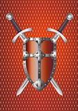 Shield and Swords Stock Photos