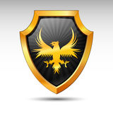 Shield. Vector. Royalty Free Stock Images