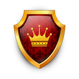 Shield. Vector. Royalty Free Stock Photos