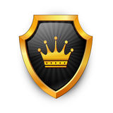 Shield. Vector. Royalty Free Stock Photo