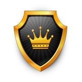 Shield. Vector. Royalty Free Stock Photo