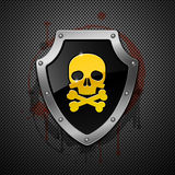 Shield. Vector. Royalty Free Stock Image