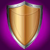 Shield, vector illustration Stock Photography