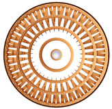 A shield wheel Royalty Free Stock Image