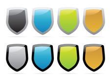 Shields Royalty Free Stock Photos