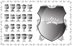 Shields Royalty Free Stock Photography