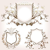 Shields Royalty Free Stock Photo