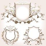 Shields royalty free illustration