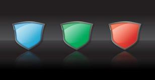 Shields Royalty Free Stock Photo