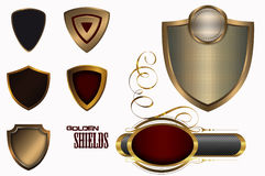Shields collection. Royalty Free Stock Image