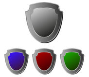 Shields illustrated Royalty Free Stock Image