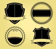 Shields Illustrations Stock Photos