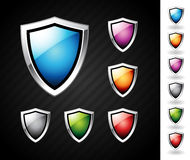 Shields set Stock Photo