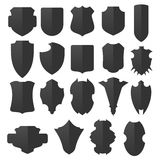Shields set Stock Photos