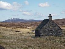 Shielin del contrassegno bothy, Scozia Fotografia Stock Libera da Diritti