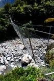 Shiels-Nebenflussbrücke, Seil-Brücke lizenzfreie stockfotografie