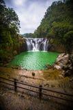Shifen vattenfall i Taiwan arkivbild