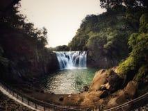 Shifen-Wasserfälle Stockbilder