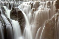 Shifen Wasserfall stockfotografie