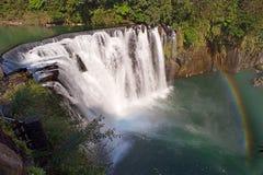 Shifen waterfall Royalty Free Stock Photos