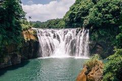 Shifen Waterfall, New Taipei, Taiwan Royalty Free Stock Photo
