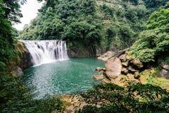 Shifen Waterfall, New Taipei, Taiwan Stock Images