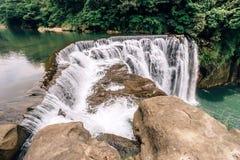 Shifen Waterfall, New Taipei, Taiwan Stock Image